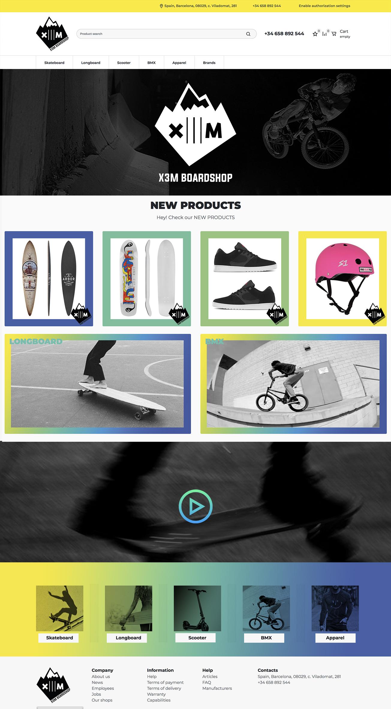 website design boardshop